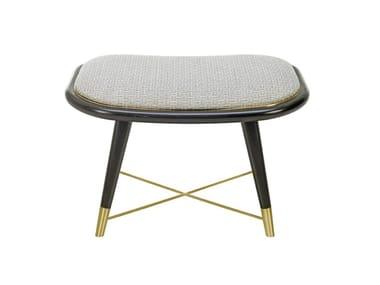 Low fabric stool BRASILIA | Stool