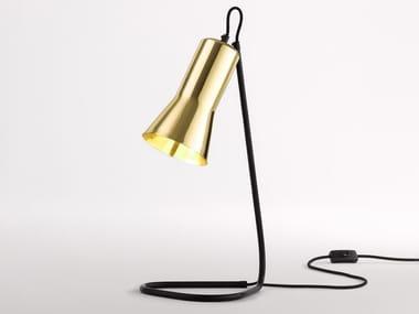LED brass desk lamp SILHOUETTE | Brass desk lamp