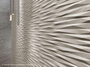 Rivestimento tridimensionale in ceramica a pasta bianca BRAVE WALL | Rivestimento tridimensionale in ceramica a pasta bianca