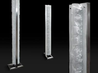 Lampada da terra a LED in vetro BREEZE