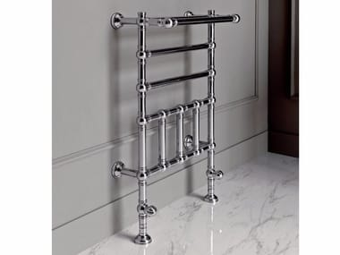 Chrome floor-standing towel warmer BRENT 2