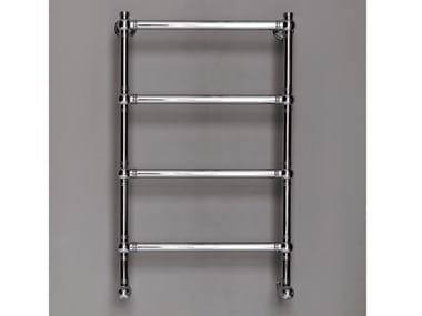 Chrome wall-mounted towel warmer BRENT 4