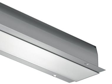 Aluminium linear lighting profile for LED modules Brenta 2 Custom