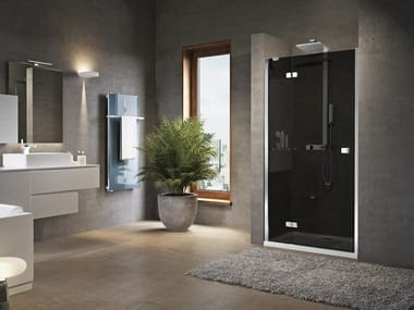 Niche shower cabin with hinged door BRERA G