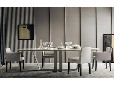 Lacquered dining table BRIDGE | Lacquered table