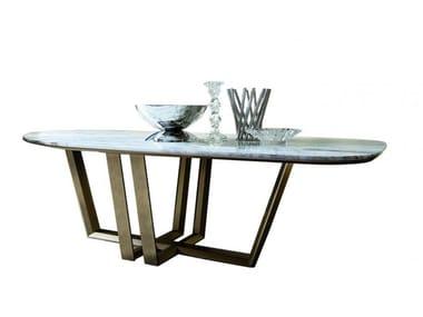 Mesa de jantar de mármore BRIDGE | Mesa de mármore