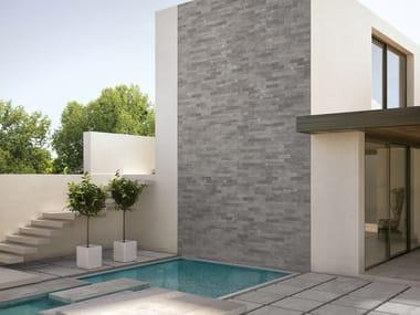 Porcelain stoneware wall/floor tiles BRIK BACK GREY