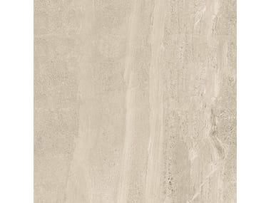 Pavimento/rivestimento in gres porcellanato effetto pietra BRIT STONE SAND