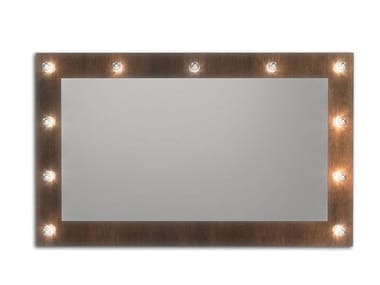 Wall-mounted mirror with integrated lighting BROADWAY C
