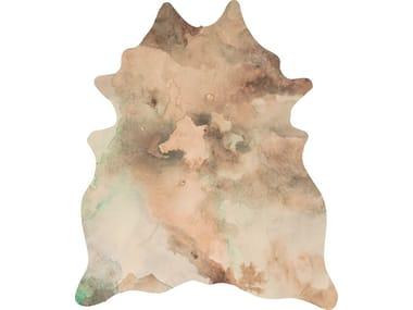 Leather rug BROKEN PAPYRUS HIDE