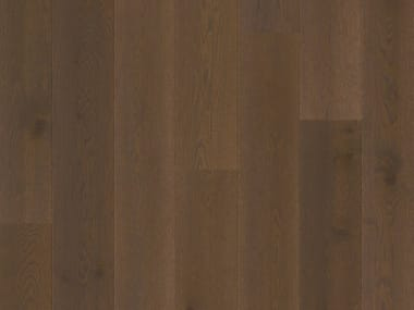 Brushed oak parquet BROWN OAK