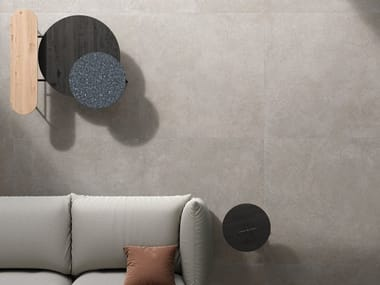 Porcelain stoneware wall/floor tiles BRYSTONE GREY