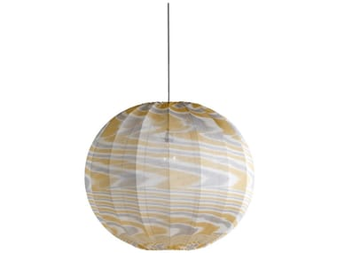 Viscose pendant lamp BUBBLE KNIT | Pendant lamp