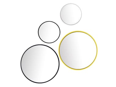 Round framed wall-mounted mirror BUBBLE