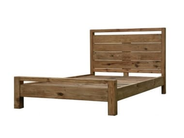 Full size solid wood bed BUCOLIC