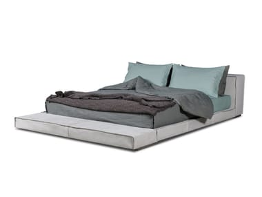 Upholstered double bed BUDAPEST SOFT | Bed