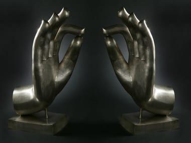 Scultura in bronzo MANI BUDDHA