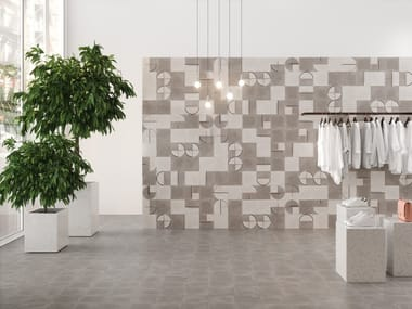 Indoor/outdoor ceramic wall/floor tiles BUHO
