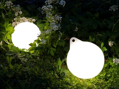 LED polyethylene Outdoor table lamp BUOY | Outdoor table lamp