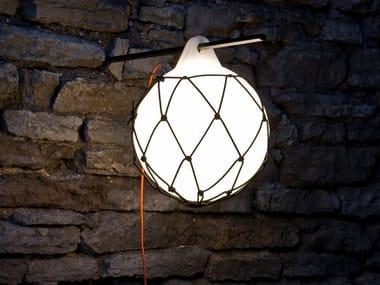 LED polyethylene outdoor pendant lamp BUOY | Outdoor pendant lamp