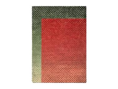 Handmade wool rug BURBUJA