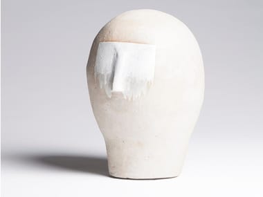 Glazed stoneware decorative object / sculpture BUST 02