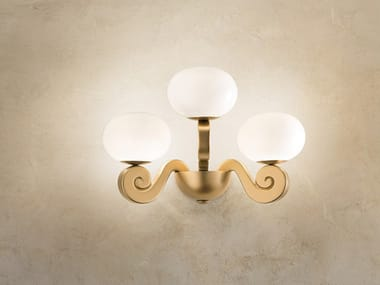 Expanded polyurethane wall lamp BUSTIER A3
