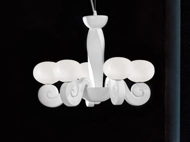 Expanded polyurethane chandelier BUSTIER S5