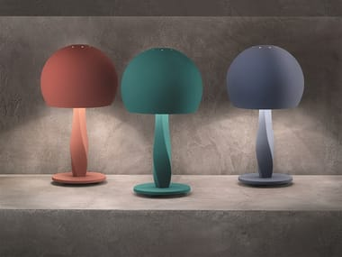 Expanded polyurethane table lamp BUSTIER TL2