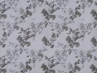 Embossed fire retardant upholstery fabric BUTTERFLY REVIVAL SN