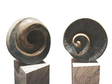 Fiberglass sculpture BÚZIO K1461