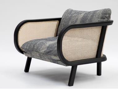 Fabric armchair BUZZICANE | Fabric armchair