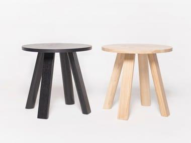 Tavolino di servizio rotondo BUZZIMILK TABLE | Tavolino rotondo