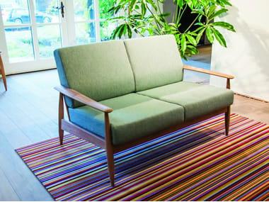Canapé 2 places en tissu BUZZINORDIC ST100 | Canapé 2 places