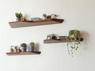 Wooden wall shelf BuzziPlank