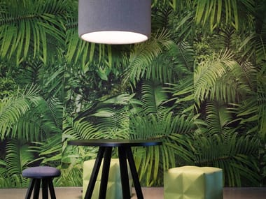 Sound absorbing wall tiles BuzziSkin Printed