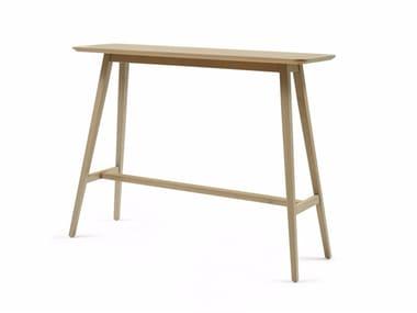 Rectangular wooden high table BUZZY T H106