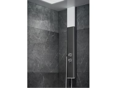 Shower column with chromotherapy BYBLOS T