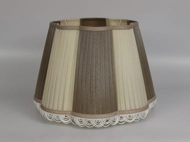 Pleated organza lampshade C001 | Lampshade
