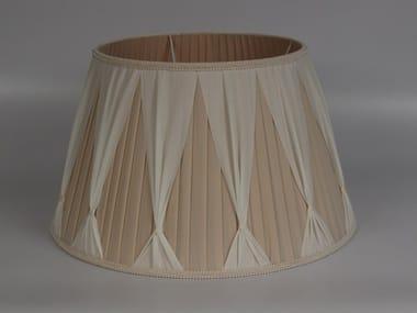 Pleated fabric lampshade C012 | Lampshade