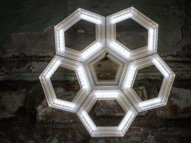 Applique a LED a luce diretta in PMMA C5 | Applique a luce diretta