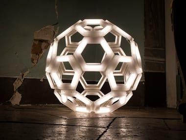 Lampada da terra a LED in PMMA C60 | Lampada da terra