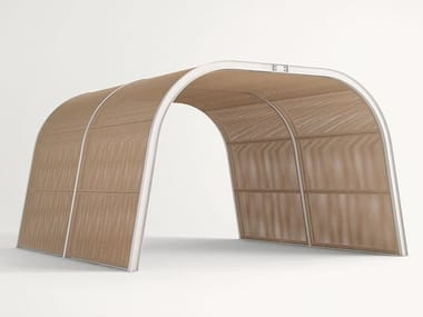 Wooden gazebo CABANNE MODULO  TUNNEL
