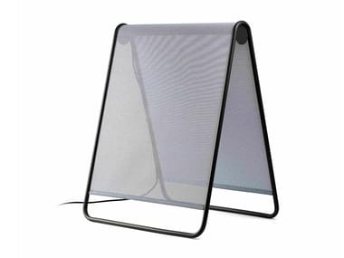 Lampada da terra per esterno a LED in textilene CADAQUÉS | Lampada da terra per esterno