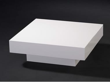 Low square coffee table for living room CADEAU | Coffee table