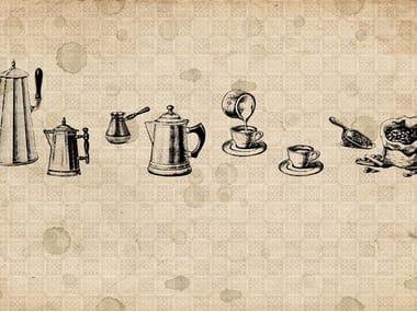Papel de parede CAFÈ