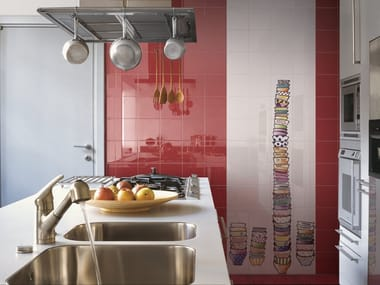 Revêtement mural en céramique pour intérieur CAFFELATTE