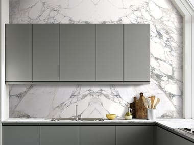 Vinyl wallpaper with marble effect CALACATTA