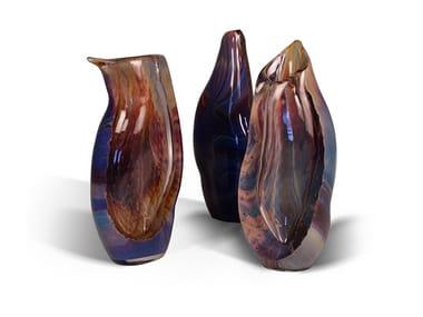 Murano glass vase CALCEDONIO