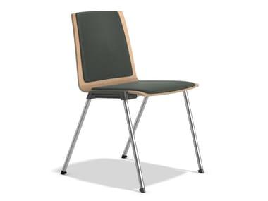 Gepolsterter Stuhl aus Stoff CALIBER 2894/00